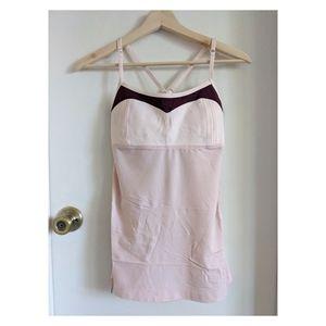 Lululemon light pink top
